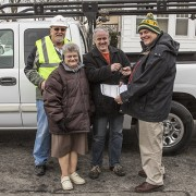 Berghammer Donates Truck