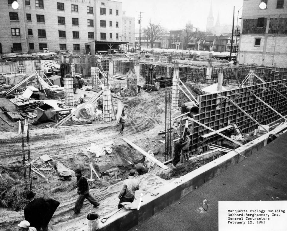 1961 – Marquette University Biology Building