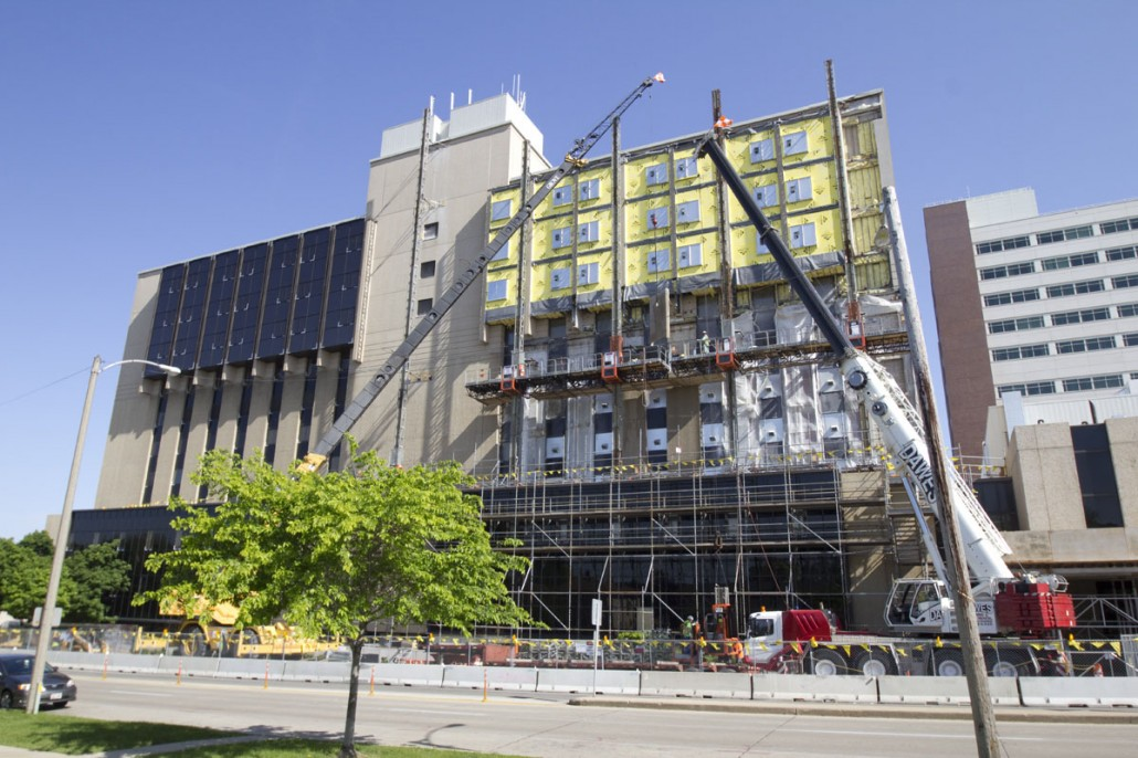 Aurora St. Luke's Knisely Tower Façade Replacement