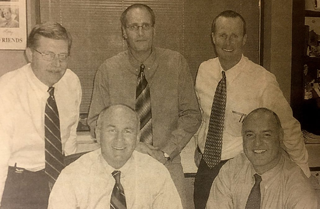 2004 – Executive Team Expanded