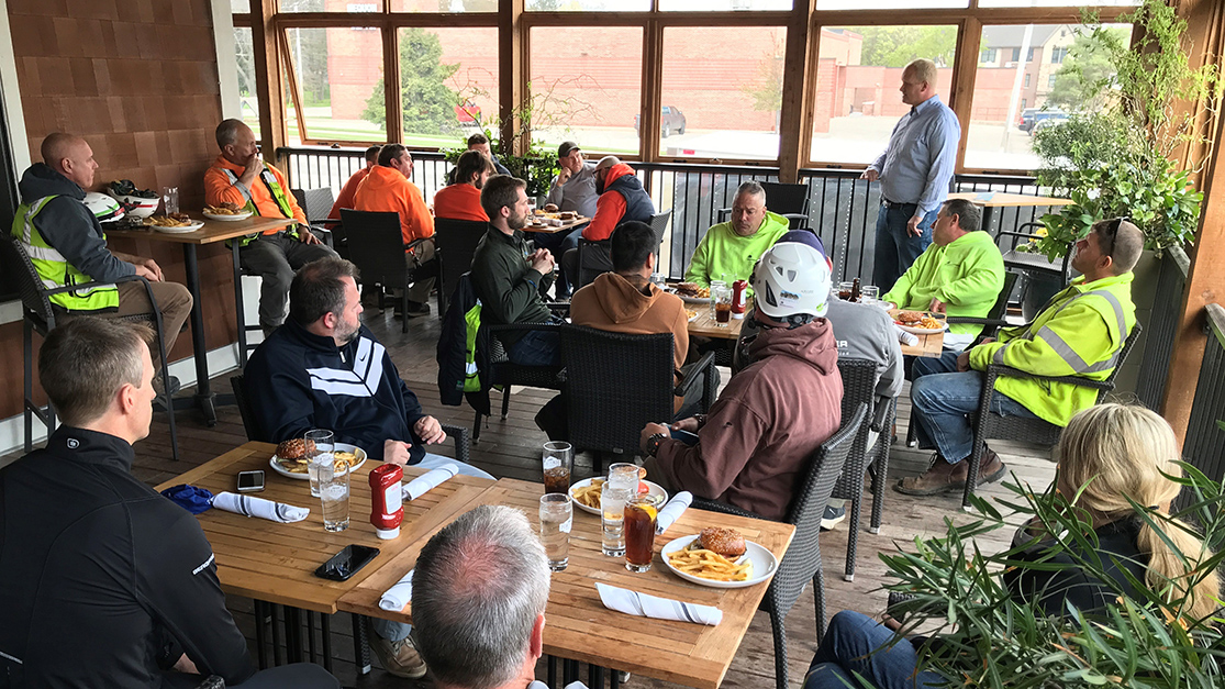 Safety Stand-down Lunch